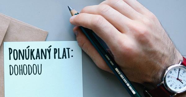 Plat v pracovnej ponuke – večná dilema